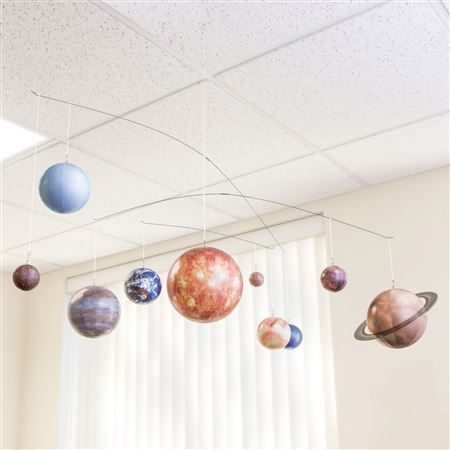how to make a solar system mobile for kids
