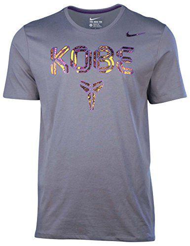Nike Men's Dri-Fit KOBE Pattern Basketball T-Shirt-Gray - http://weheartlakers.com/lakers-shirts/nike-mens-dri-fit-kobe-pattern-basketball-t-shirt-gray