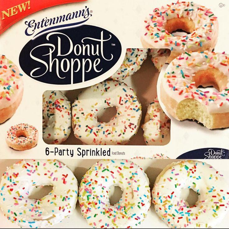 Entenmanns donut shoppe party sprinkled entenmanns