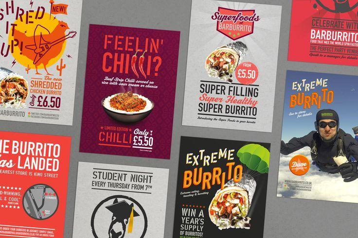 Barburrito | Website Design Manchester | Graphic Design Manchester | AHOY