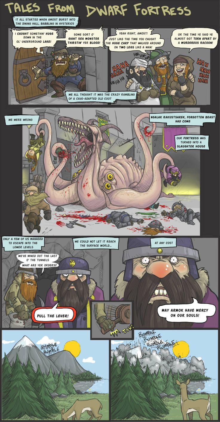 Tales from Dwarf Fortress by DarkCloak.deviantart.com on @DeviantArt