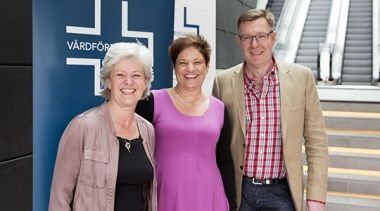 Ann, Sineva och Johan, kongress 2014_540-300