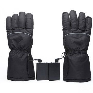 Touch Screen Electric Heated Gloves Warm Waterproof Ski Winter Warmer For Motorcycle Scooter Riding Motorcycle Accessories Parts From Automobiles Motorcycle In 2020 Heated Gloves Winter Warmers Gloves Winter