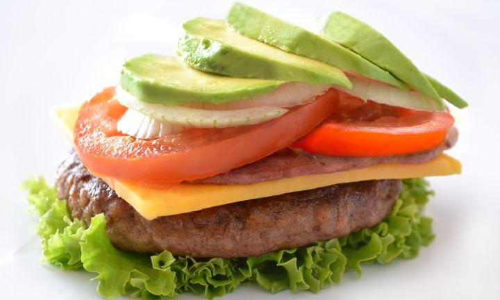 Banting burger