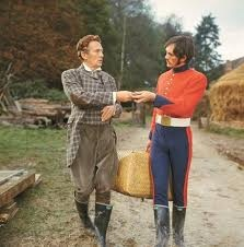 Farmer Boldwood & Sergeant Troy (Peter Finch & Terence Stamp) That suit coat tho!