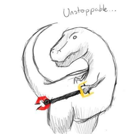 Unstoppable...Laugh, Awesome, Funny Pictures, Trex, Funny Stuff, Dinosaurs, Humor, Things, Unstoppable T Rex