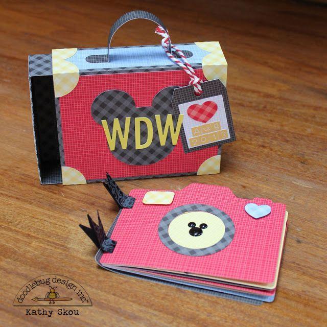 Petite Prints Challenge: Disney Album with Kathy | Doodlebug Design Inc Blog | Bloglovin'
