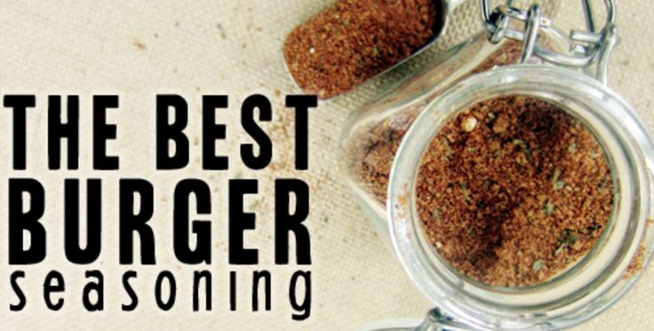 The Best Burger Seasoning #whole30