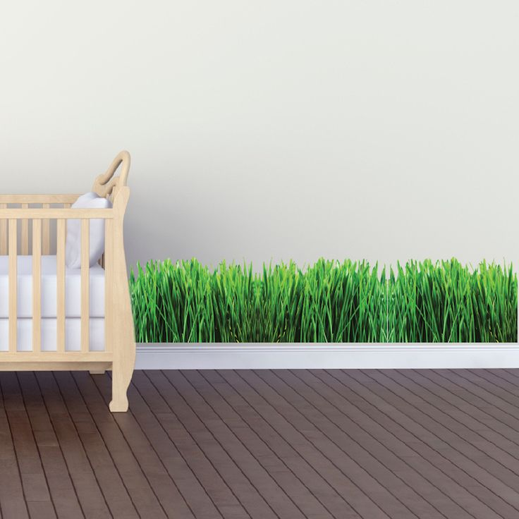 Grass wall mural decal garden wall decal murals primedecals