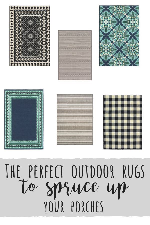 Outdoor Rugs To Spruce Up Your Porches