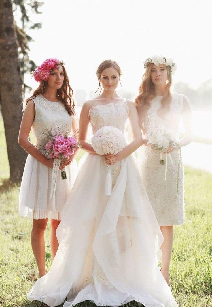 116 best robe pour demoiselle d 39 honneur images on pinterest weddings brides and bridesmaid