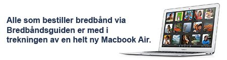 Finn bredbånd på din adresse og få oversikt over bredbåndsleverandører i Norge!