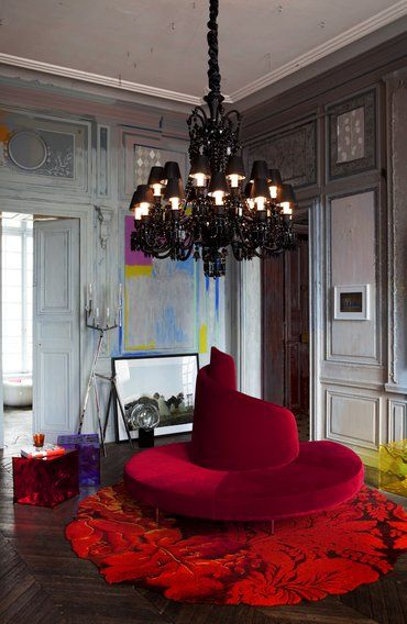 baccarat zenith midnight chandelier by philippe starck philippe starck designer pinterest. Black Bedroom Furniture Sets. Home Design Ideas