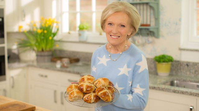 Mary Berry's Easter Feast- could make GF with an oat base, rather than biscuits.