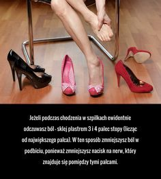 Bolą Cię stopy w szpilkach? Możesz sobie pomóc!
