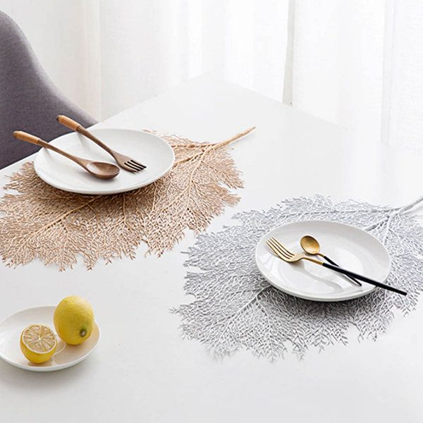 Bright Coloured Placemats Light Gold Round Vinyl Table Mats Manufacturer Sale Long Table Runner Colorful Table Placemats