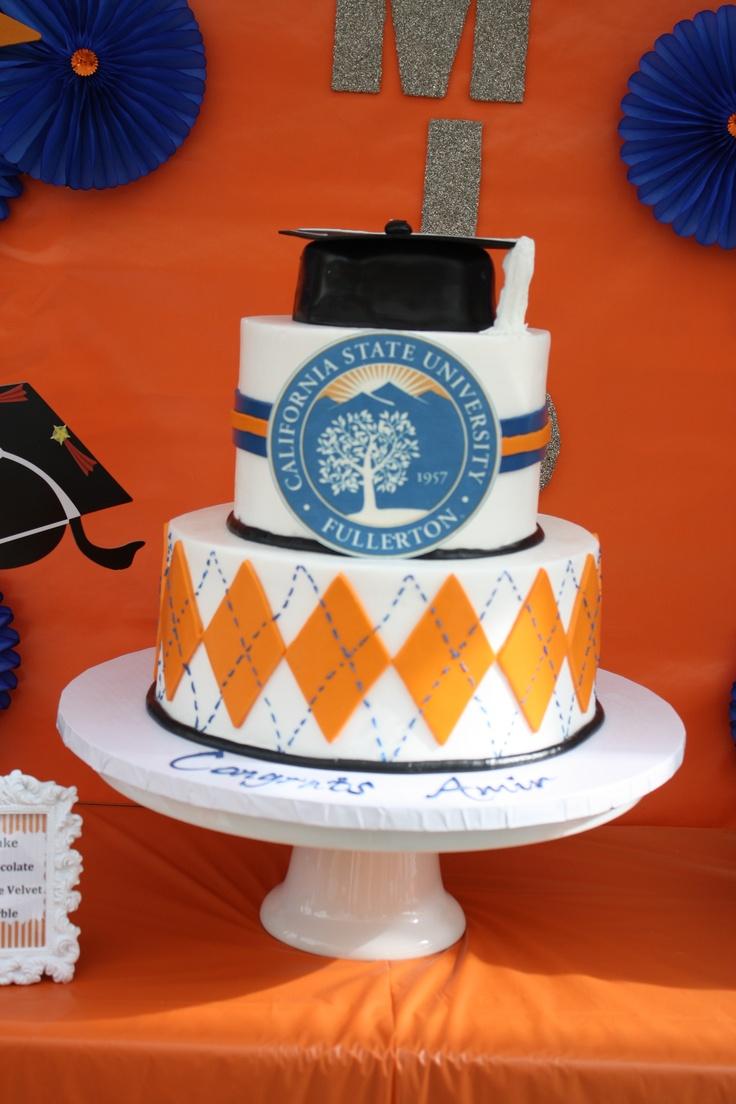 Graduation party cake cal state fullerton shanyssa s