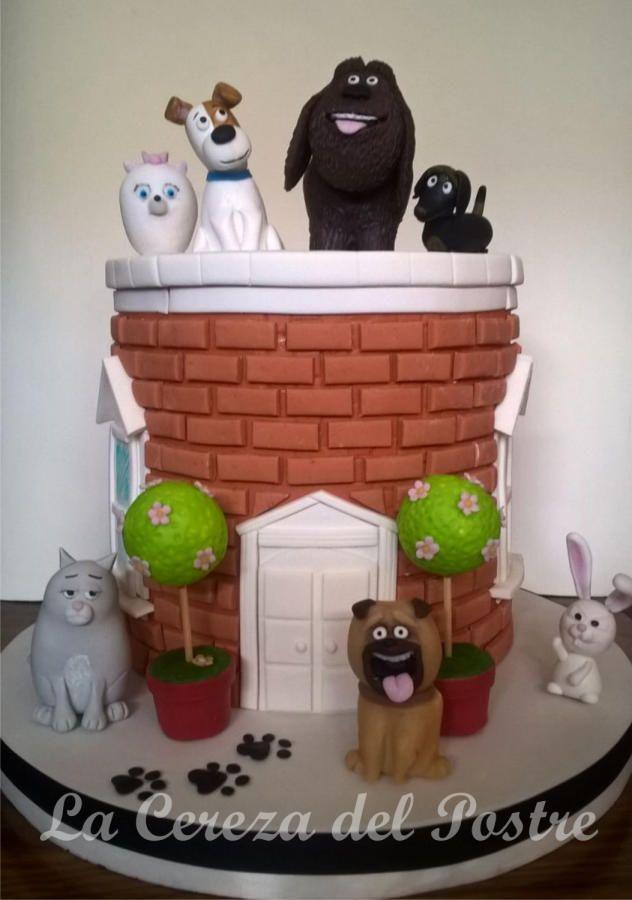 The Secret Life of Pets - Cake by La Cereza del Postre La Plata