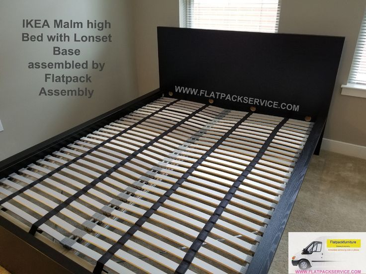 Slatted Bed Base Lonset Bed Frame With Storage Bed Slats Malm