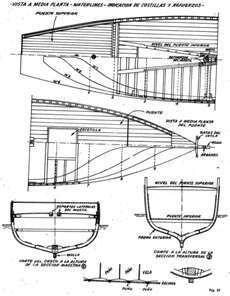 Barcos de madera balsa