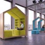 Mobiles Lesemöbel Design von Malcew erlaubt gestalterische Vielfalt