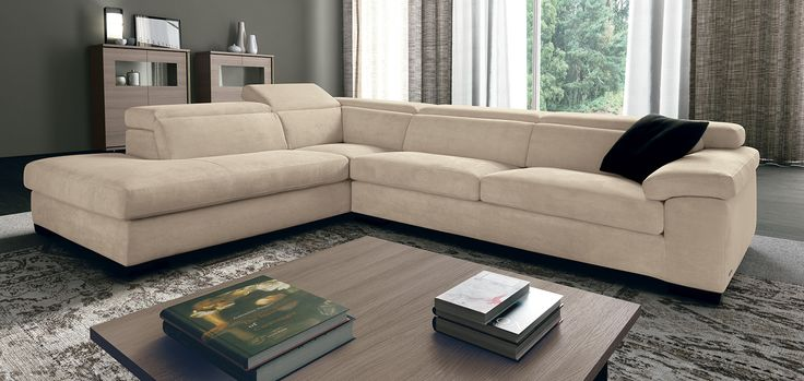Cream, Grey, Living Room Ideas