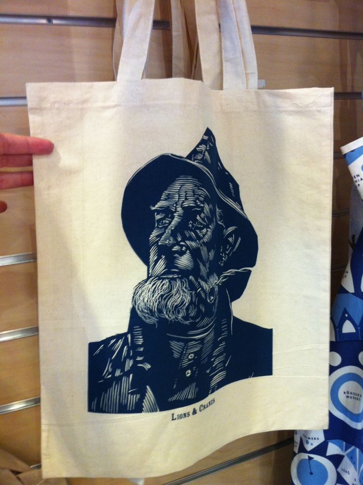 Feskarn totebag from Lions & Cranes at the Gothenburg Tourist Centre