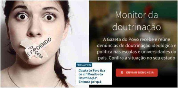 Gazeta do Povo, de Curitiba, feriu Constituição Federal e agiu ilegalmente ao criar plataforma de denúncias contra educadores, no Paraná