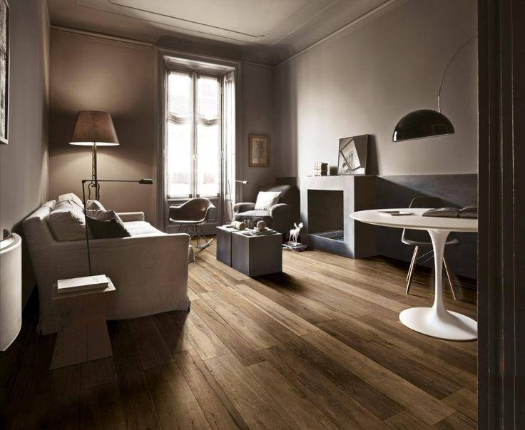 Krásna drevená podlaha vie z každého domu vytvoriť domov. Beautiful wooden can turn every house into home. #tiles #floortiles #design