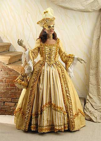 Costumes for Carnival in Venice - Feb 2013