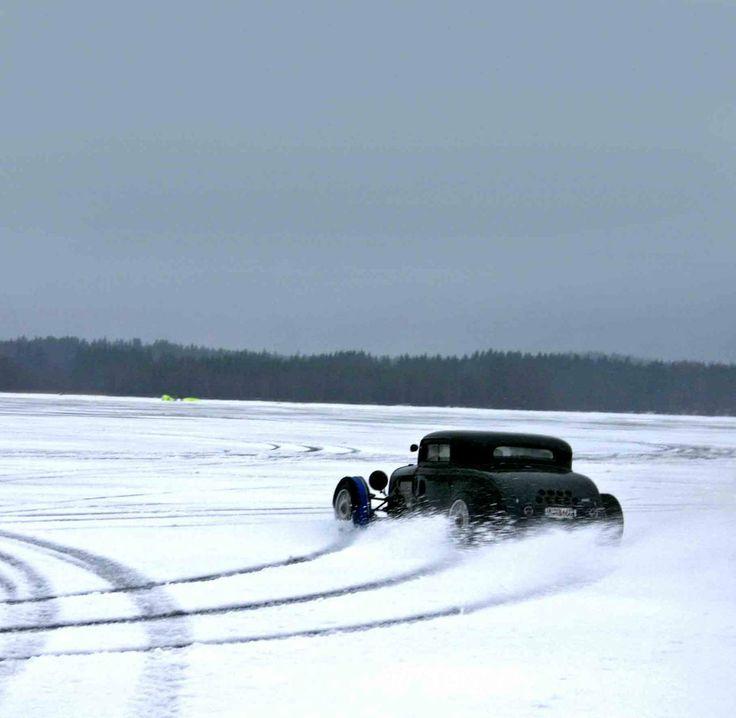 rear wheel drive in snow