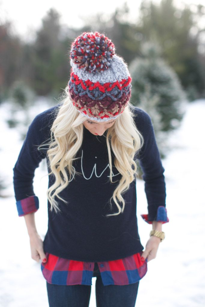 Holiday Bliss loving this knit beanie