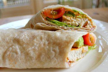 Recept: gezonde, frisse en pittig gekruide Mexicaanse wraps