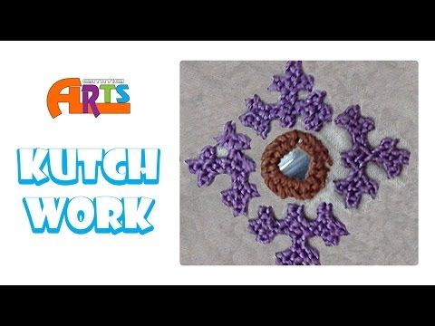 Kutch Work - Free Embroidery - Sewing Classes in Amma Arts - YouTube