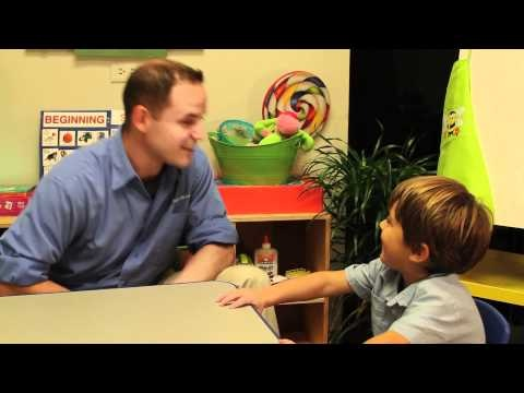 video - ABA verbal behavior - echoics