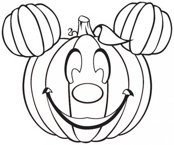 halloween pumpkins coloring pages - photo #18
