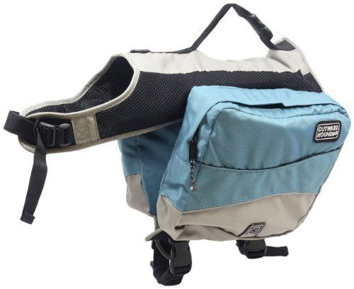 Outward Hound Kyjen Excursion Dog Backpack, Large, Ice Blue and Elephant - http://www.thepuppy.org/outward-hound-kyjen-excursion-dog-backpack-large-ice-blue-and-elephant/