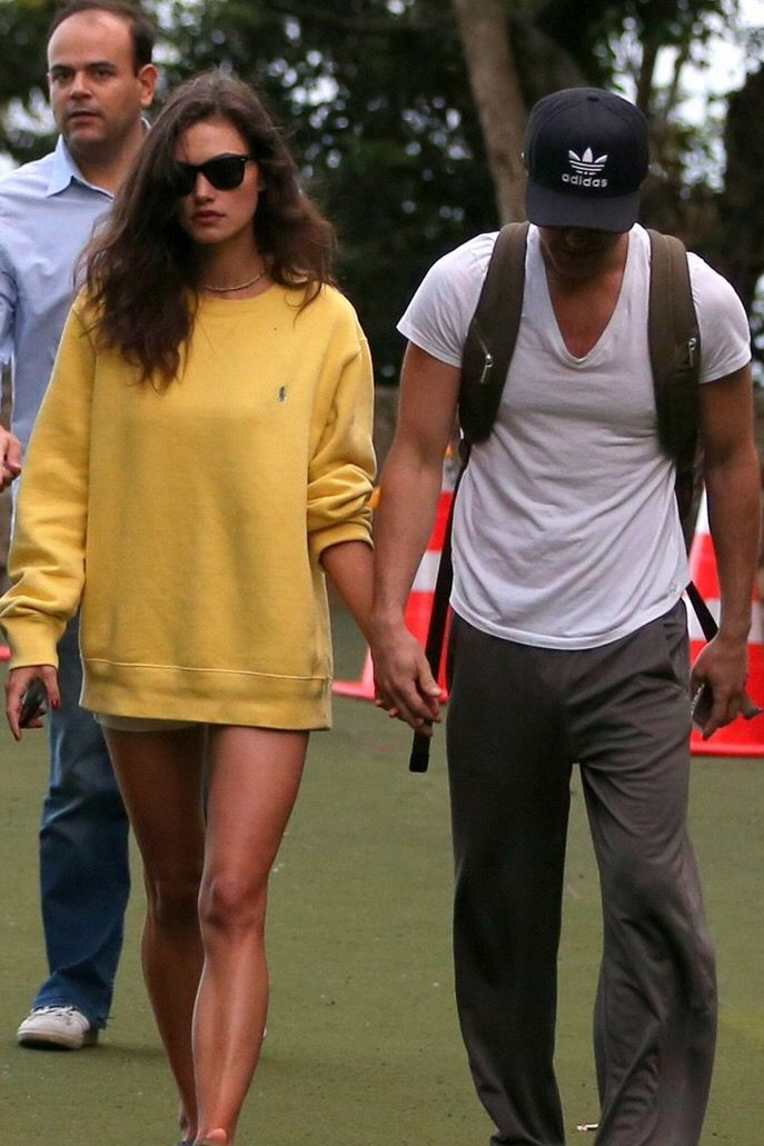 Phoebe Tonkin and Paul Wesley in Rio, Brazil