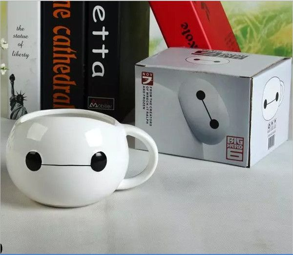 Find More Mugs Information about NEW Big Hero 6 cartoon Six Baymax cosplay Daily Coffee Cup Gos Tea Mug Limit Gift Collectible free shipping,High Quality mug original,China mug gift set Suppliers, Cheap mugs kids from Where Amazing Happen on Aliexpress.com