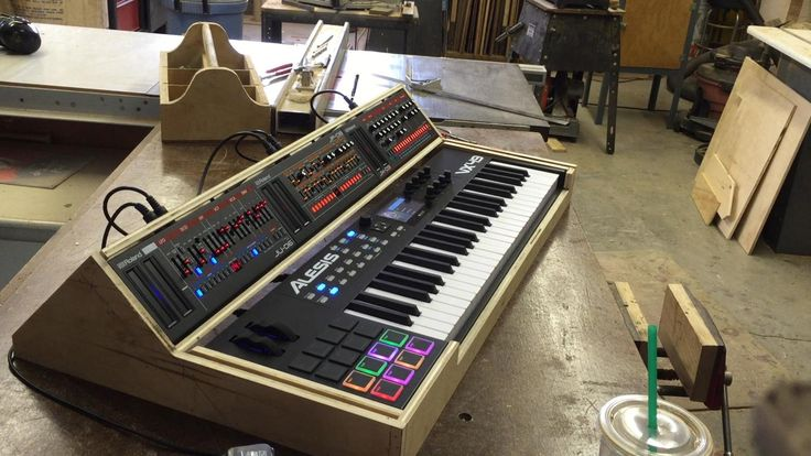 Roland Boutique   Keyboard Build