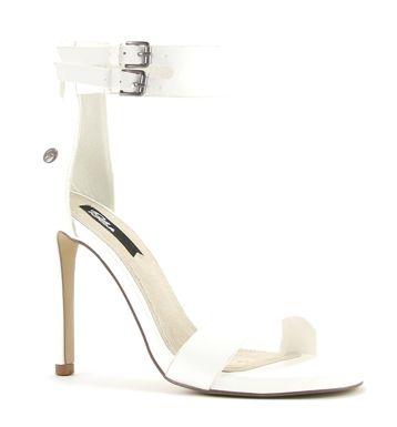 Blink 802140 witte sandalen met hak