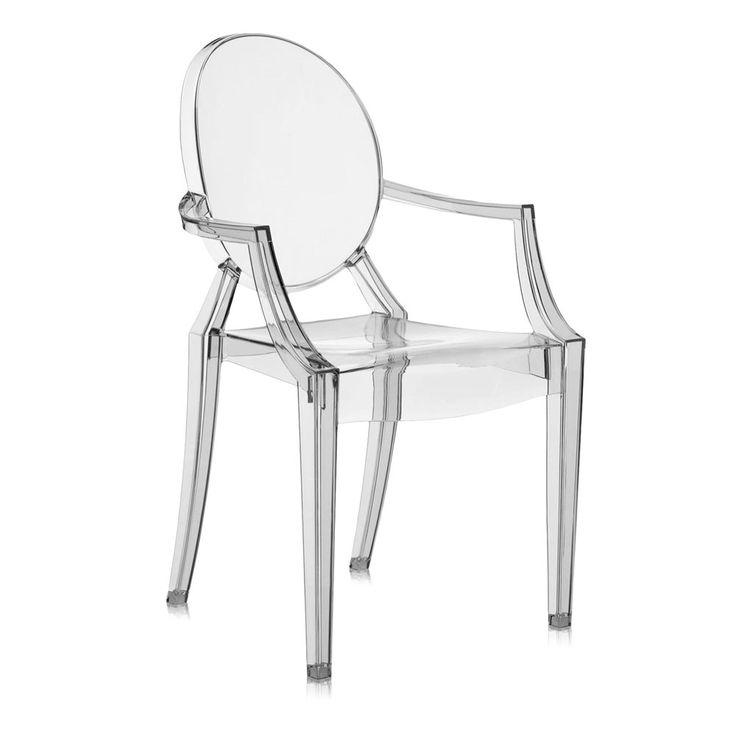 Outdoor Chair Louis Ghost by Kartell #designbest #philippestarck #design #interiordesign #interiors #homestyle #living #homedecor #homefurniture #home #furniture #style