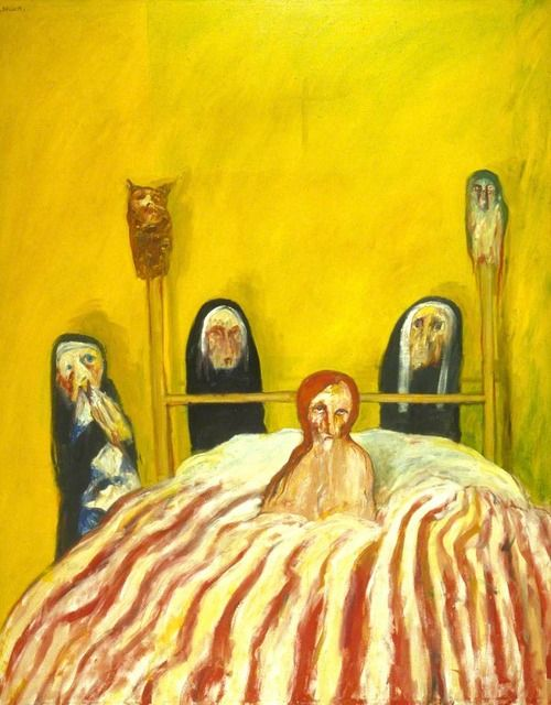 The Gates of Death, 1969 by John Bellany