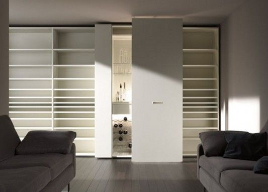 modern-white-gloss-wardrobes-with-display-rack-8 - Easy Decor
