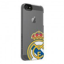 Carcasa iPhone 5 Real Madrid - Transparente Logo Color  $ 48.177,94