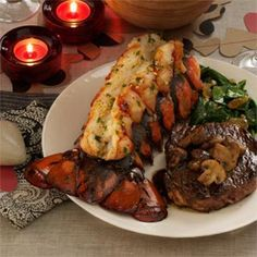 Grilled Lobster Tails Recipe -I had never made lobster at home until I tried this recipe convenient and deliciously different grilled recipe. It turned out amazing, and has left me with little reason to ever order lobster at a restaurant again. —Katie Rush, Kansas City, Missouri