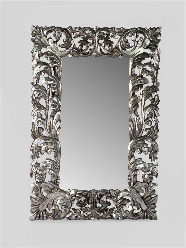 100 ideas to try about baroque mirror provencal for Specchio barocco argento