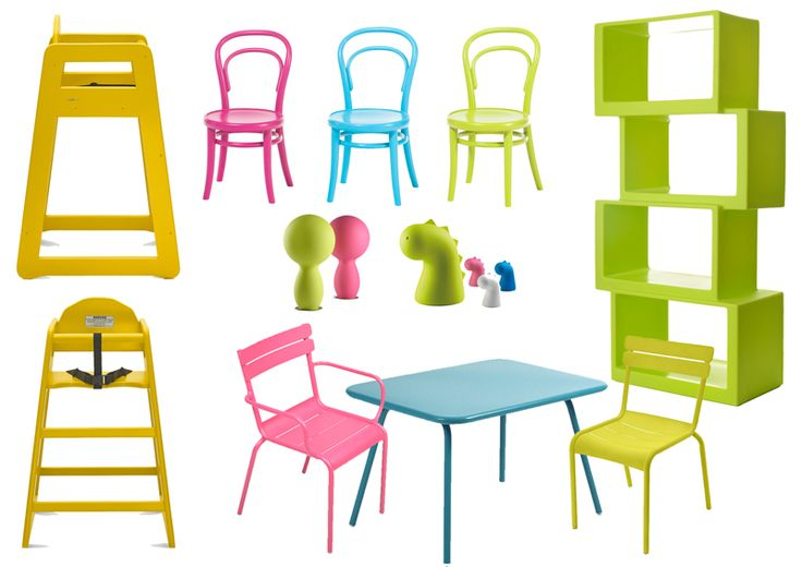 Kid's contract furniture, high chairs and the rest #regstaurant #interior #childrenfurniture #kidsfurniture #highchair #b2b #contract #contractfurniture #babychair #plasticchair #metalchair