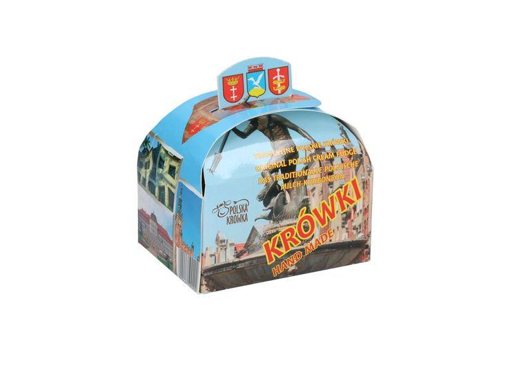 Krówki Trójmiejskie - kuferek 250 g :: Czec Kaszubskie i pomorskie książki i upominki. Niezwykłe pamiątki ludowe, których jesteśmy producentem.