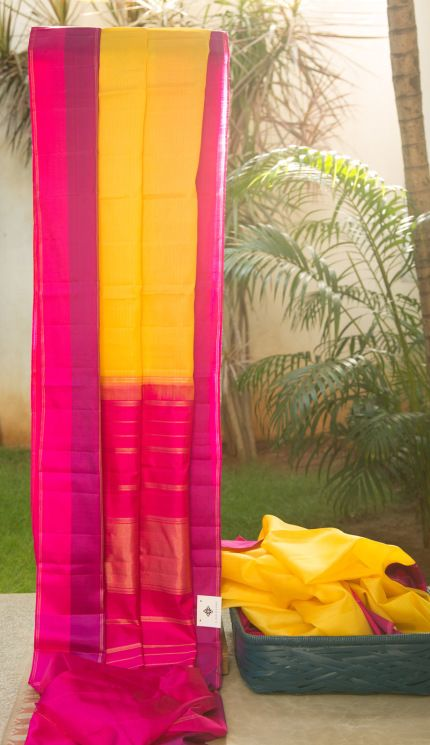 Kanchivaram Kora Silk L02794   Lakshmi